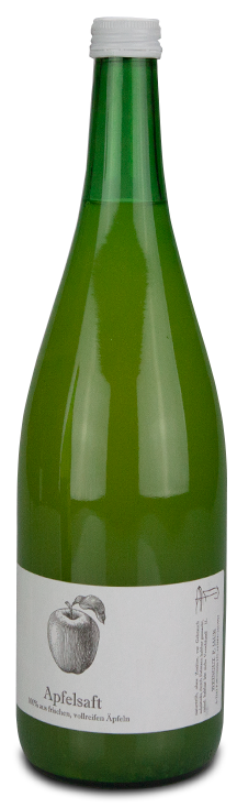 Bild Flasche Apfelsaft